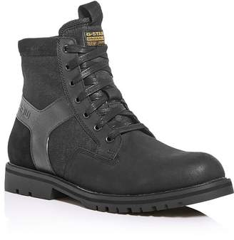 G Star Men's Powell Y Lace-Up Boots