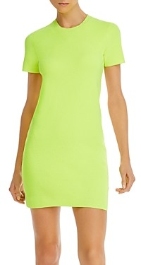 Helmut Lang Bodycon Mini T-Shirt Dress