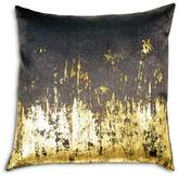 "Michael Aram Distressed Metallic Viscose Print Decorative Pillow, 20"" x 20"""