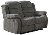 Hokku Designs Fergstein Reclining Loveseat Upholstery Color: Gray