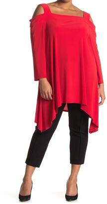 Marina Long Sleeve Cold Shoulder Top