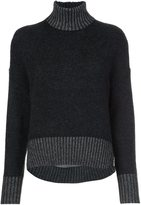 3.1 Phillip Lim roll neck cocoon jumper