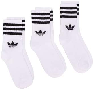 adidas Logo-Jacquard Sock Set