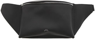 A-Cold-Wall* Black Leather Belt Bag With Logo