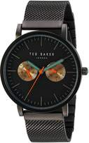 Ted Baker Men's 'Smart Casual' Quartz Stainless Steel Dress Watch, Color:Grey (Model: 10031186)