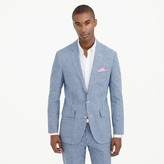 J.Crew Ludlow suit jacket in gingham linen-cotton