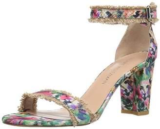 Stuart Weitzman Women's Frayed Heeled Sandal