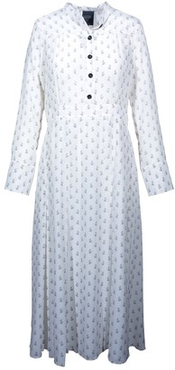 Barneys New York White Silk Dress for Women