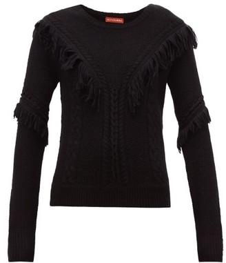 Altuzarra Buckeye Fringe-trim Sweater - Black