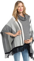Jessica Simpson Maternity Striped Poncho