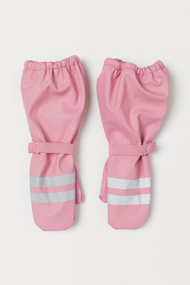 H&M Fleece-lined rain mittens