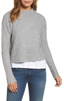 Vineyard Vines Women's Mock Neck Crop Sweater