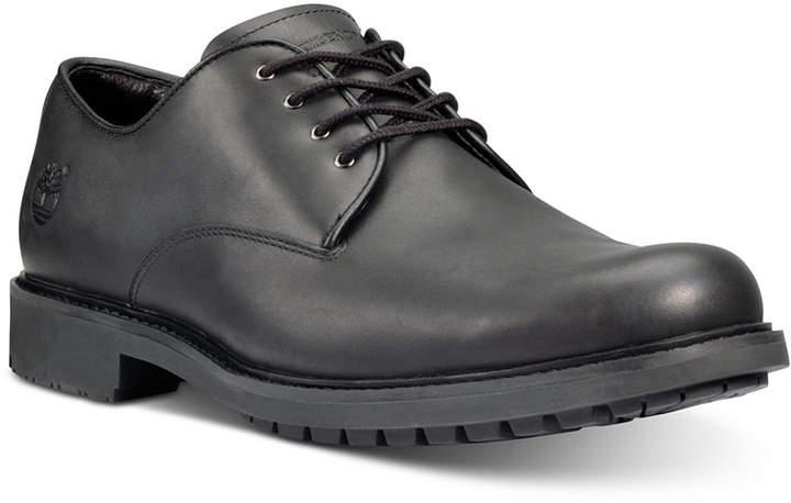 428bcde0c35 Men Stormbuck Plain Toe Waterproof Derby Men Shoes