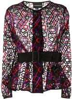 Emporio Armani sheer jacket