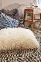 Urban Outfitters Mongolian Faux Fur Oversized Pillow