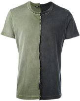 Diesel two-tone T-shirt