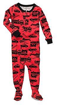 Carter's Firetruck Footed Pajamas - Boys 12m-24m
