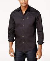 Sean John Men's Zip-Pocket Flight Shirt
