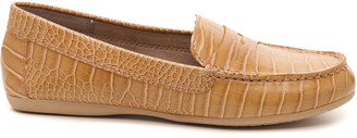 Kelly & Katie Women's Panee Penny Loafers Nude Size 5 Faux Leather From Sole Society