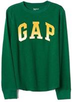Gap Shadow logo waffle-knit tee