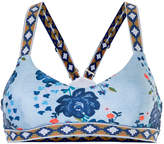 The Upside racerback floral sports bra