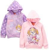 Children's Apparel Network PAW Patrol Purple & Pink Hoodie Set - Toddler & Girls