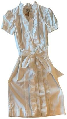 Diane von Furstenberg White Cotton - elasthane Dresses