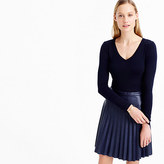 J.Crew Perfect-fit long-sleeve V-neck T-shirt