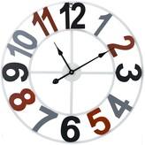 Sorbus Metal Wall Number Clock