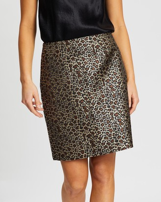 Review Purr-ty Leopard Skirt
