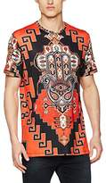 Jaded London Men's Tapestry Hamsa Print T-Shirt