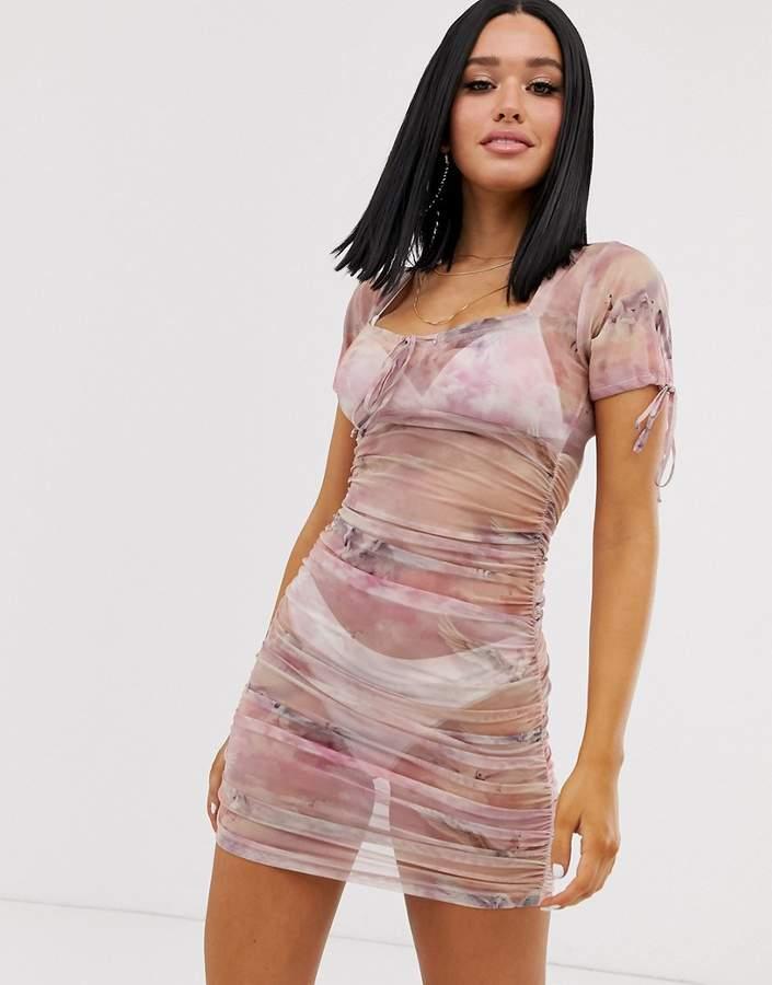 78edff387fae Motel Print Dresses - ShopStyle