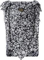 Vivienne Westwood handkerchief floral blouse - women - Cotton - 40