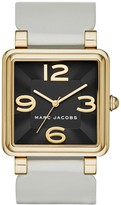 Marc by Marc Jacobs Women's Vic Square Leather Strap Watch