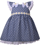 Bonnie Baby Eyelet & Daisy Gingham-Print Dress, Baby Girls (0-24 months)
