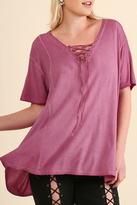 Umgee USA Raspberry Tunic Top