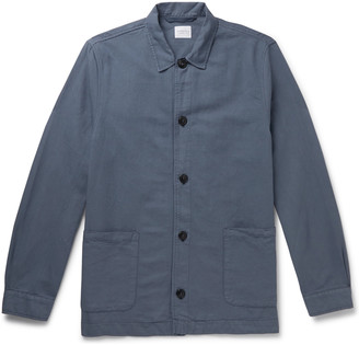Sunspel Cotton And Linen-Blend Jacket