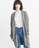 Abercrombie & Fitch Long Textured Cardigan