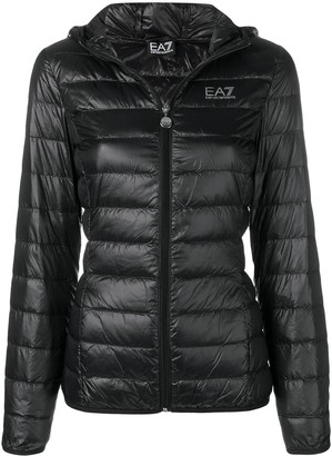 Emporio Armani Ea7 hooded puffer jacket