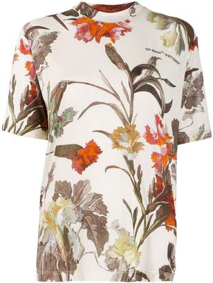 Off-White floral print T-shirt
