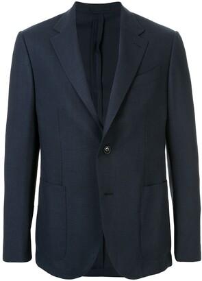 Ermenegildo Zegna Packaway patch pocket blazer