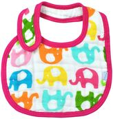 I Play Green Sprouts by Brights Organic Muslin Bib