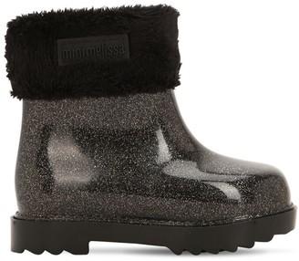 Mini Melissa Glitter Scented Rubber Boots