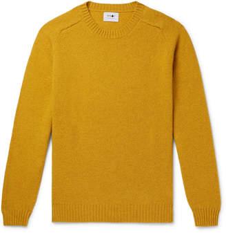 NN07 Nathan Brushed-Wool Sweater
