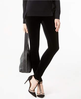 INC International Concepts Inc Petite Velvet Skinny Pants