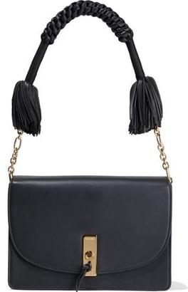 Altuzarra Fringed Braided Leather Shoulder Bag