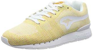 KangaROOS Unisex Adults' Coil R1-Woven Low-Top Sneakers Multicolor Size: (42 EU)