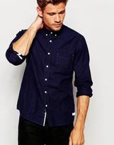 Esprit Denim Shirt With Fleck - Blue