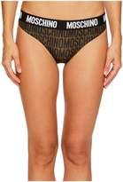 Moschino Microfiber Letting Brief Women's Underwear
