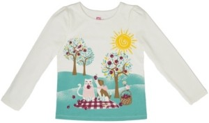 Epic Threads Toddler & Little Long Sleeve Puff Sleeve Graphic Tee